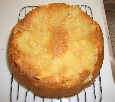 アップルシナモンケーキ