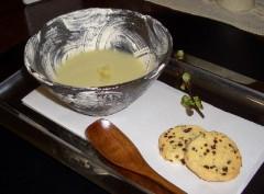 サツマイモとココナッツミルクデザート