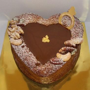 ショコラハートケーキ