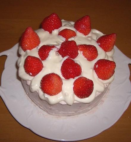 誕生ケーキ♪